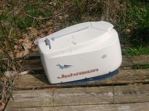 Johnson outboard motor hood for Sale in Conway, NC