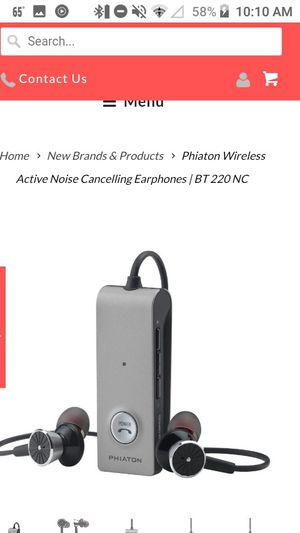 Phiaton noise cancelling bluetooth headphones for Sale in Huntington, WV