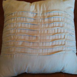 Bluish Gray Throw Pillow for Sale in Turlock, CA