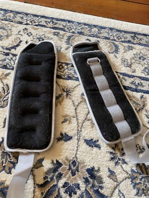 Two five lb wrap weights w straps for Sale in Pittsburgh, PA