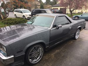 84 g-body Chevy elcamino for Sale in Federal Way, WA