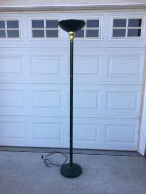 Standing Floor Lamp ,dark green color for Sale in Fontana, CA