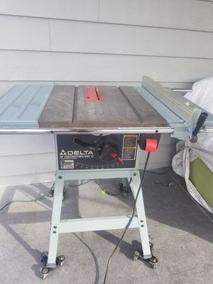 DELTA 36-630 10-Inch. Contractor's Professional Table Saw II for Sale in Las Vegas, NV