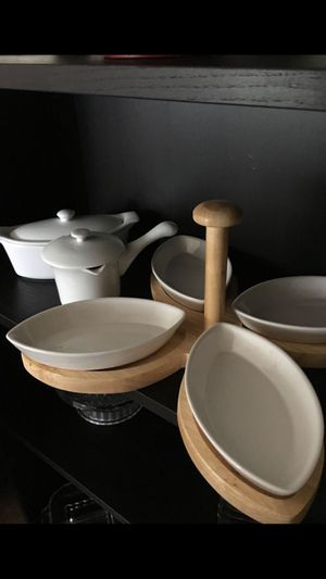 Chefs the best kitchen starts here,porcelain set for Sale in Falls Church, VA