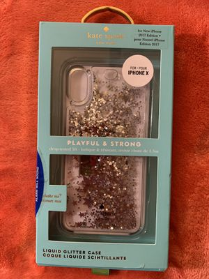 Kate spade ♠️ iPhone X case for Sale in Brockton, MA