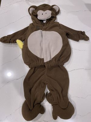 Monkey Halloween costume 0-6 mo for Sale in Simpsonville, SC