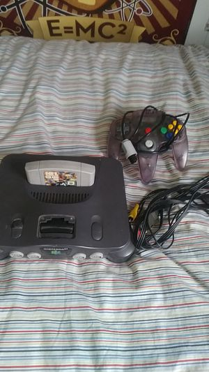 Nintendo 64, 1 controller, 1 game, can add games for $$$ TRADE FOR 3DS XL for Sale in Lorain, OH