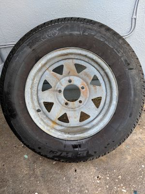 Trailer tire spare tire for Sale in Tarpon Springs, FL