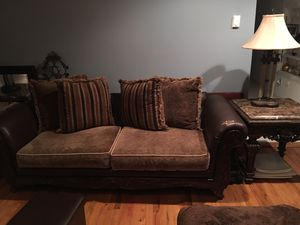Brown leather Sofa for Sale in Baldwin, NY
