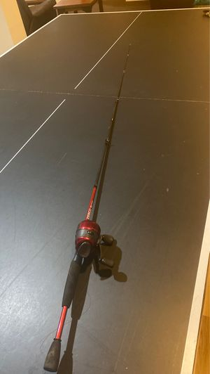 ZEBCO 33 Custom-Z 6 ft 6-14 lbs fishing rod w reel and line for Sale in Brighton, CO