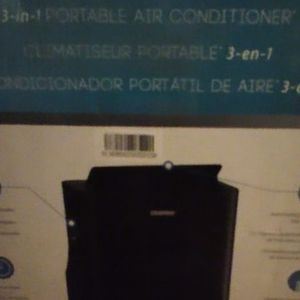Smart Portable 3 In1 14,000 Btu AC By Danby Black Smart Air Purifier for Sale in Tucson, AZ