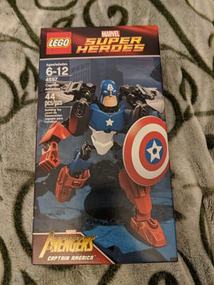 New Lego Marvel Super Heroes Avengers Captain America Set 4597 for Sale in Lynnwood, WA