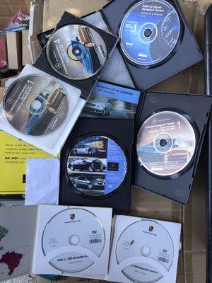 Bmw, MB, Porsche navigation discs for Sale in Covina, CA