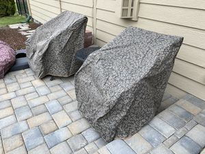 Frontgate outdoor chair covers x 2 for Sale in Eagle, ID
