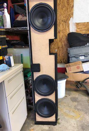 """Three 10"""" hertz sub woofers for Sale in Cranston, RI"""