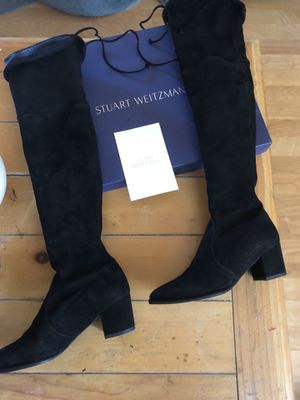STUART WEITZMAN BOOTS SIZE 4 1/2 medium for Sale in Fremont, CA