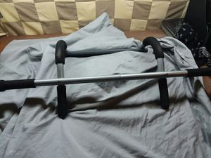 Iron Gym Pro Fit doorway pull up bar for Sale in Bedford, VA