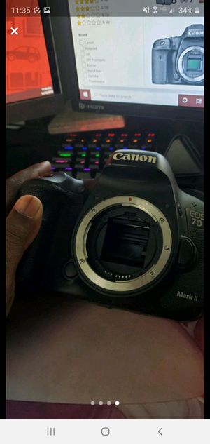 Canon 7D Mark ii DLSR Camera for Sale in Philadelphia, PA