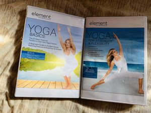 Yoga for Beginners Plus Bonus Exercise DVD for Sale in Haskell, OK