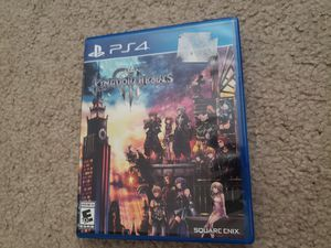 Kingdom hearts 3 ps4 game disney playstation for Sale in Grapevine, TX