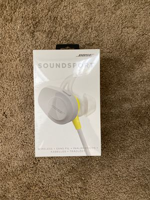 Bose sound-sport sealed never used bluetooth for Sale in Los Angeles, CA