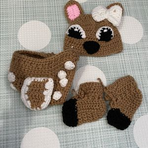 Newborn Baby Deer Crochet for Sale in Fort Lauderdale, FL