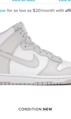 Nike Dunk Vast Grey 2021 SIZE 9 for Sale in Silver Spring,  MD
