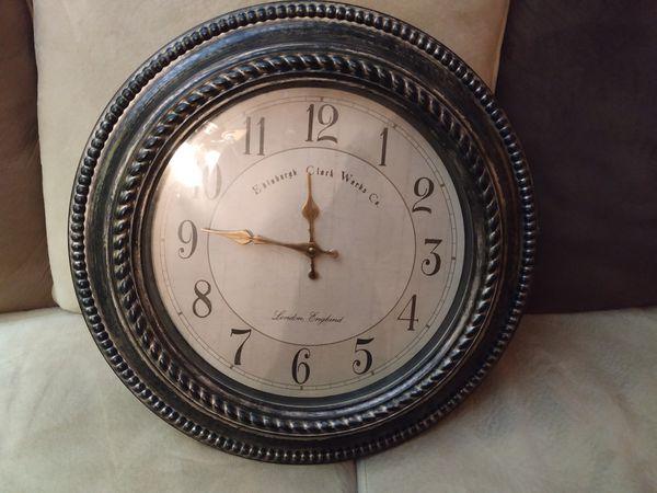 Decorative clock vintage inspired