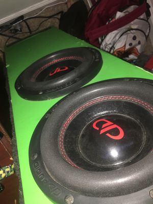 """DD 8""""subwoofer class D ported enclosure for Sale in Greensboro, NC"""