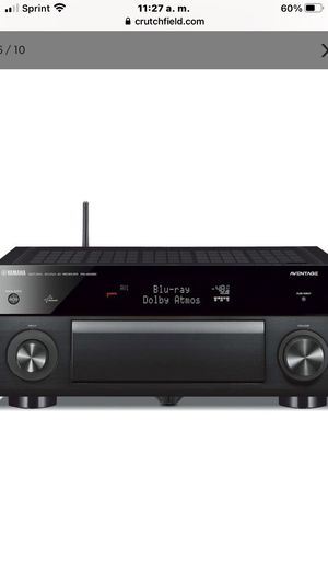 Yamaha receiver for Sale in San Diego, CA
