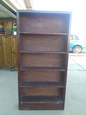 Solid Wood Shelving Unit for Sale in Glendale, AZ