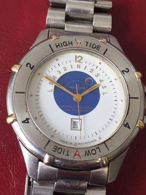 Krieger Officially Certified Tidal Chronometer Wrist Watch + Original Bracelet Running for Sale in Harwich, MA