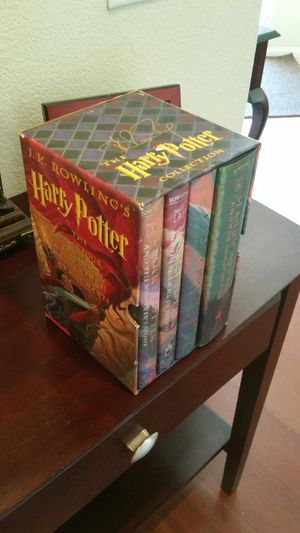 Harry Potter 1st 4 collection. for Sale in Las Vegas, NV
