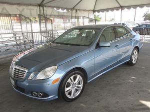 2010 Mercedes-Benz E-Class for Sale in Gardena, CA