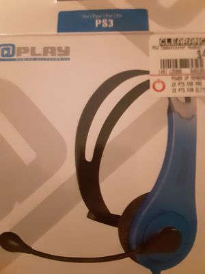 Ps3 chat headset plus games for Sale in Aurora, CO