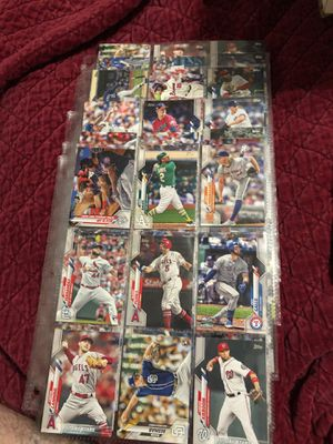 Topps series 2 baseball cards 63 cards with PUJOS and rookies for $6 for Sale in Beltsville, MD