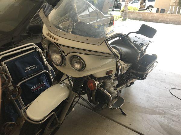 1988 Kawasaki kz1000 police for Sale in Fontana, CA - OfferUp