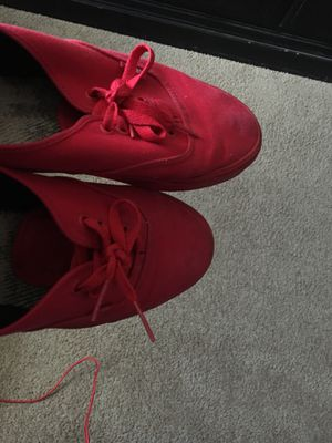 Red Vans 10 and a half in Mens $60 for Sale in Dallas, TX