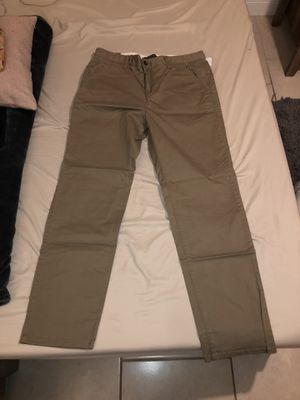 34x30 skinny chino pants for Sale in LAKE CLARKE, FL