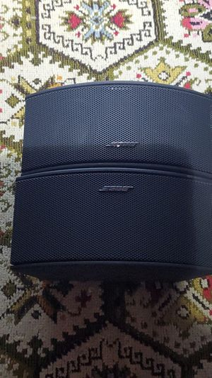 BOSE HOME THEATER SPEAKERS BLACK for Sale in Leicester, MA