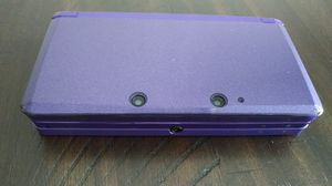 Purple Nintendo 3DS with games and accessories bundle for Sale in Burrillville, RI