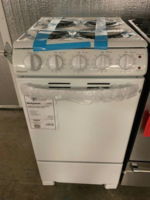 Brand New 20 Inch Hotpoint Electric Coil-Top Range..1 Year Manufacture Warranty Included for Sale in Gilbert, AZ