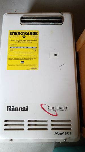 Rinnai Continuum tankless water heater for Sale in Puyallup, WA
