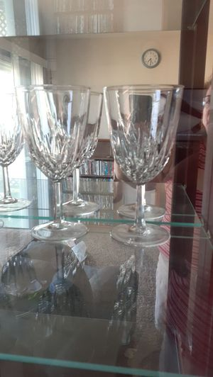 Prince House Crystal Goblets for Sale in Mount MADONNA, CA