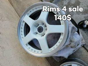 Motegi 2 piece rims...!! for Sale in Stockton, CA