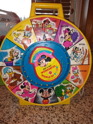 Mattel 1988 See N Say Mickey Disney for Sale in Vancouver, WA