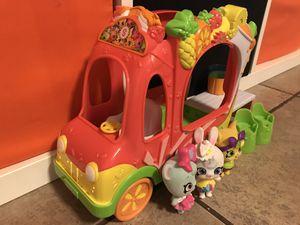 Shopkins Smoothie Truck + Fuzzy Shoppet Petkins for Sale in Glendale, AZ
