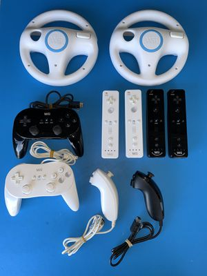Official Nintendo Wii and Wii U Accessories for Sale in Anaheim, CA