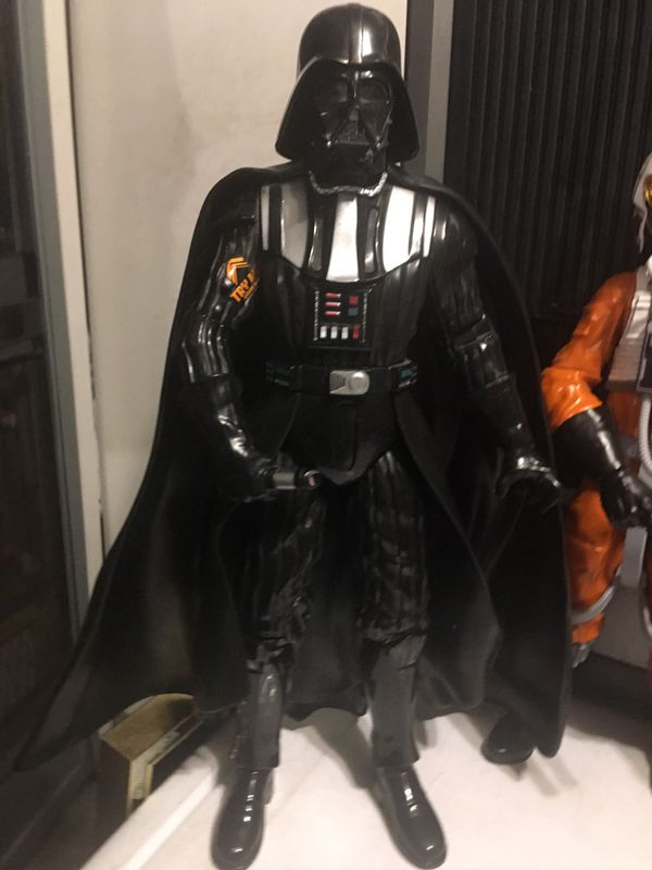 BIG starwars action figures talking & lights up 12-16 inches