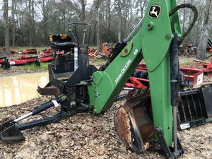 John deer backhoe attachment 3 point, in excellent condition for Sale in Hockley, TX